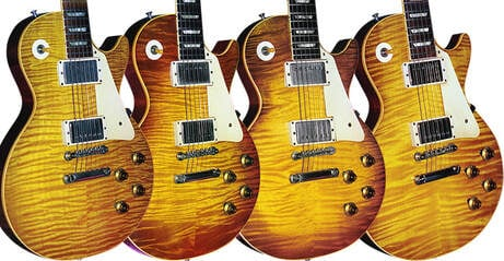 Les Paul top