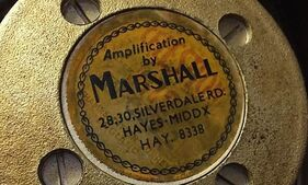Marshall Silverdale Road Label Speaker