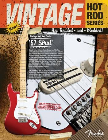 '57 Vintage Road Stratocaster advert