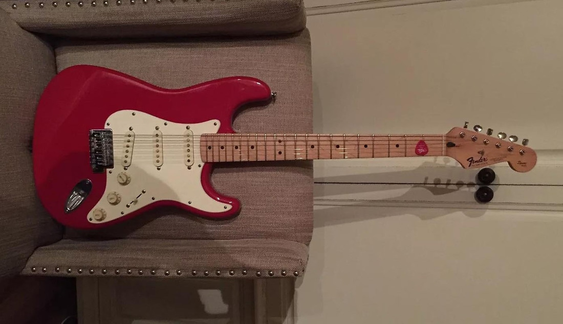 Squier Series Stratocaster 1995 reverb