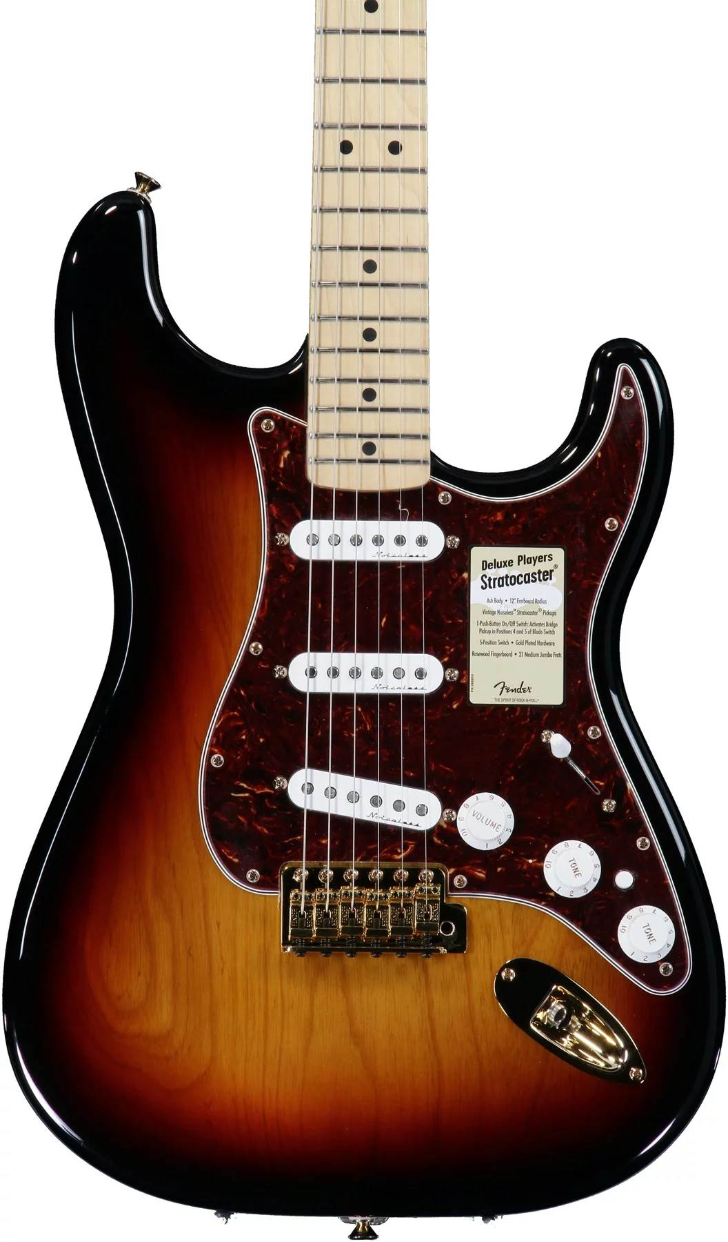 Deluxe Players Strat (MIM) - Fuzzfaced