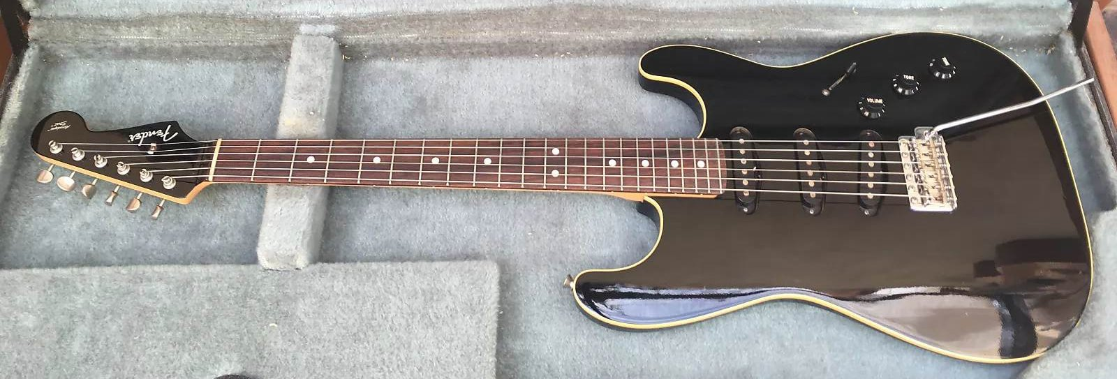 Aerodyne Stratocaster second model, without pickguard, Courtesy of Reverb
