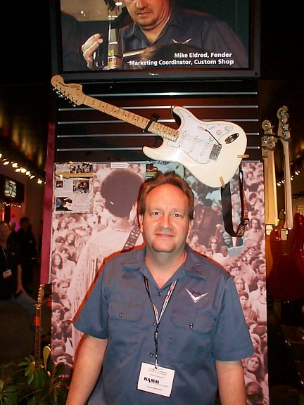 Mike Eldred and the Woodstock Stratocaster